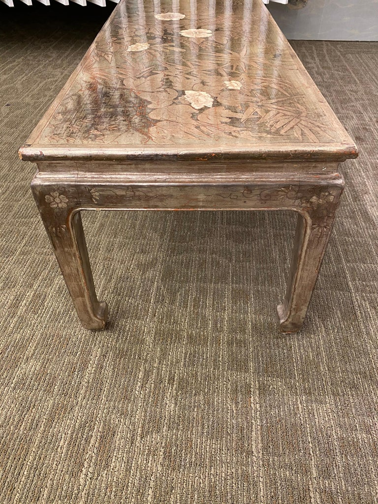 Max Kuehne Silver leaf Coffee Table For Sale 5
