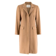 Max Mara Camel Hair Coat SIZE UK 12