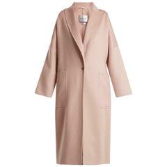 Max Mara Rubiera Single Breasted Cashmere Coat