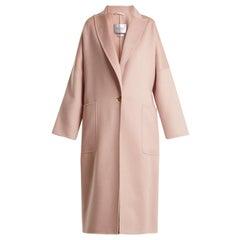 Max Mara Rubiera Single-Breasted Cashmere Coat