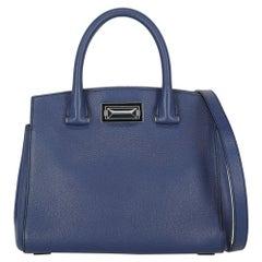 Max Mara Woman Handbag  Navy Leather