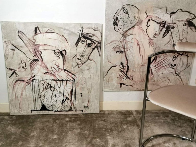 Max Marra Couple Paintings