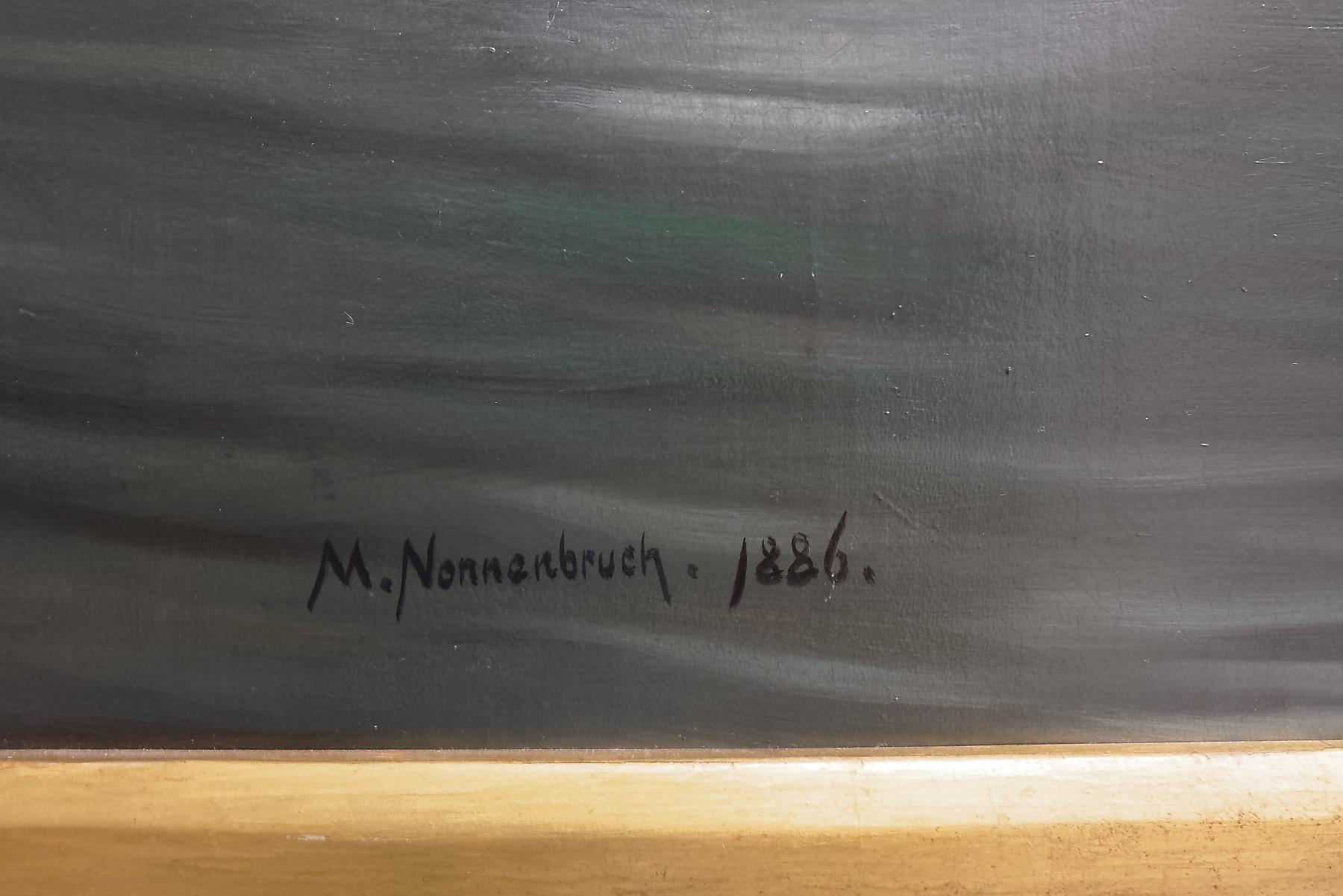 Max Nonnenbruch German Munich Lady 4 19x34 INCHES ART PRINT