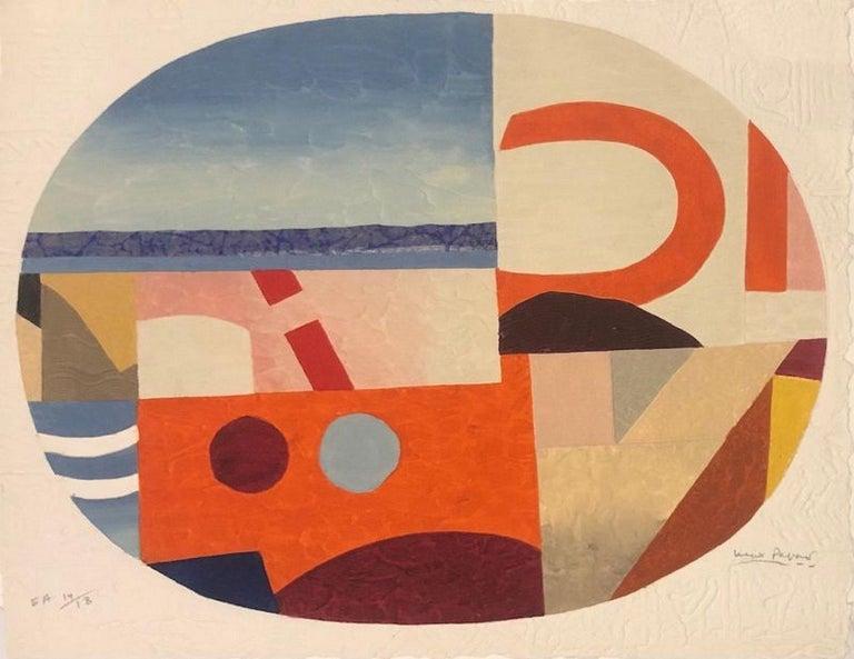 Max Papart Abstract Print - Travel