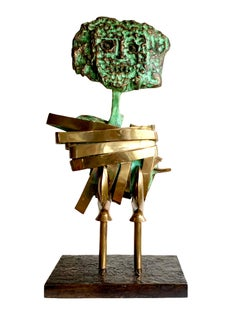 """Max Papart, """"Dame de Nage"""", bronze sculpture"""