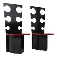 Max Papiri Throne Chairs for Mario Sabot