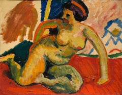 Fabric Nude Paintings
