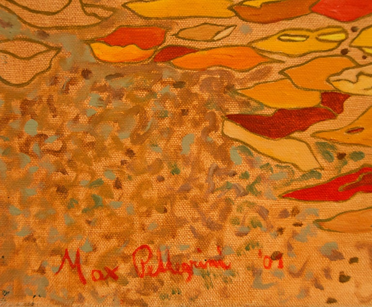 Psiche e Amore - Painting by Max Pellegrini