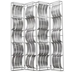 Max Sauze Foldable Aluminium Room Divider