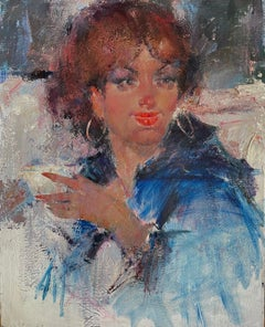 LADY WITH MARTINI