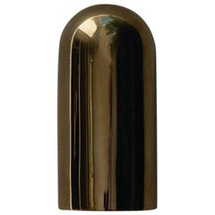 Max Version Contemporary Outdoor Wall Light in Cast Brass
