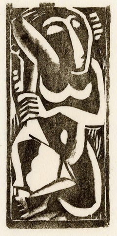Nude with Upraised Arms