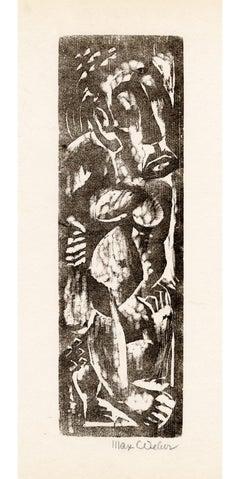 Primitive Figure — American Expressionism