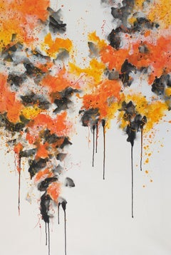 « Drips 7 » by M.Y., Painting, Acrylic on Canvas