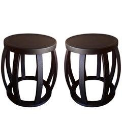 """Maxalto Collection """"Loto"""" Side Tables by Antonio Citterio for BB Italia"""