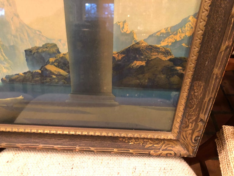 Maxfield Parrish Famous Large Framed Print of