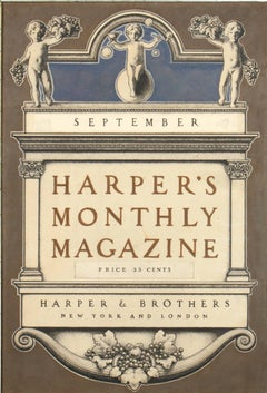 Harper's Monthly Magazine Cover
