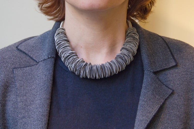 Maxi One Stainless Steel Necklace For Sale 1