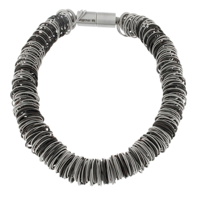 Maxi One Stainless Steel Necklace For Sale