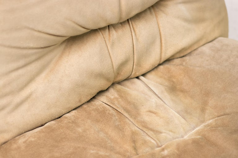 Steel Maxijumbo Lounge Seating by Alberto Rosselli for Saporiti For Sale