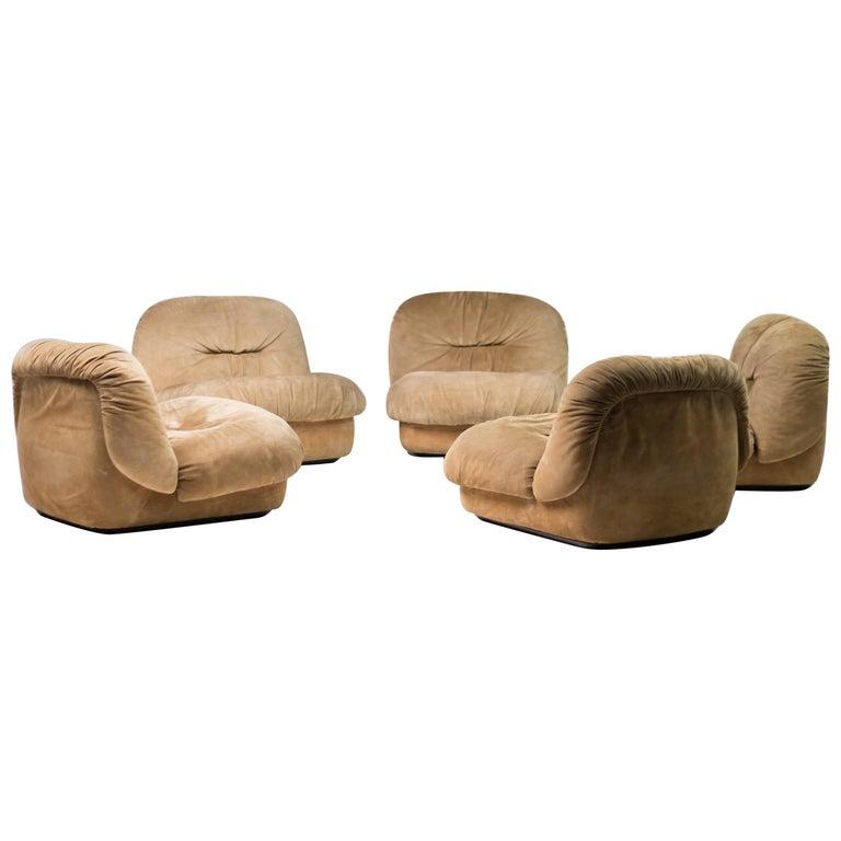 Maxijumbo Lounge Seating by Alberto Rosselli for Saporiti For Sale