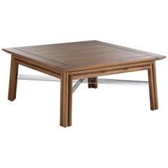 Maxim Natural Coffee Table by Braid Outdoor