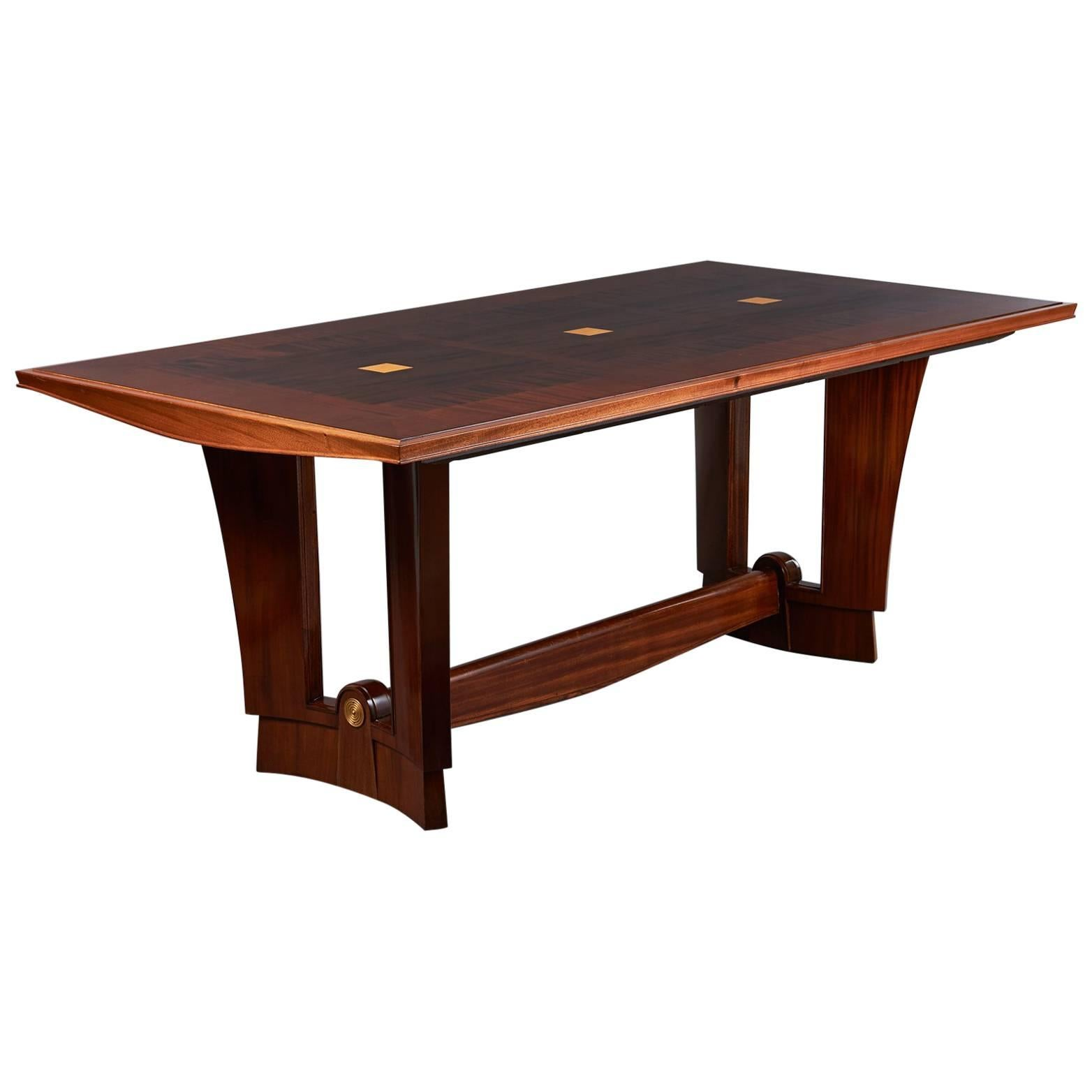 Maxime Old Centre or Dining Table, France, 1940s