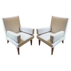 Maxime Old, Pair of Armchairs 369 Model, France, 1955-1958