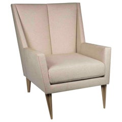 Maxime Old Relaxing armchair in Fabric and Steel