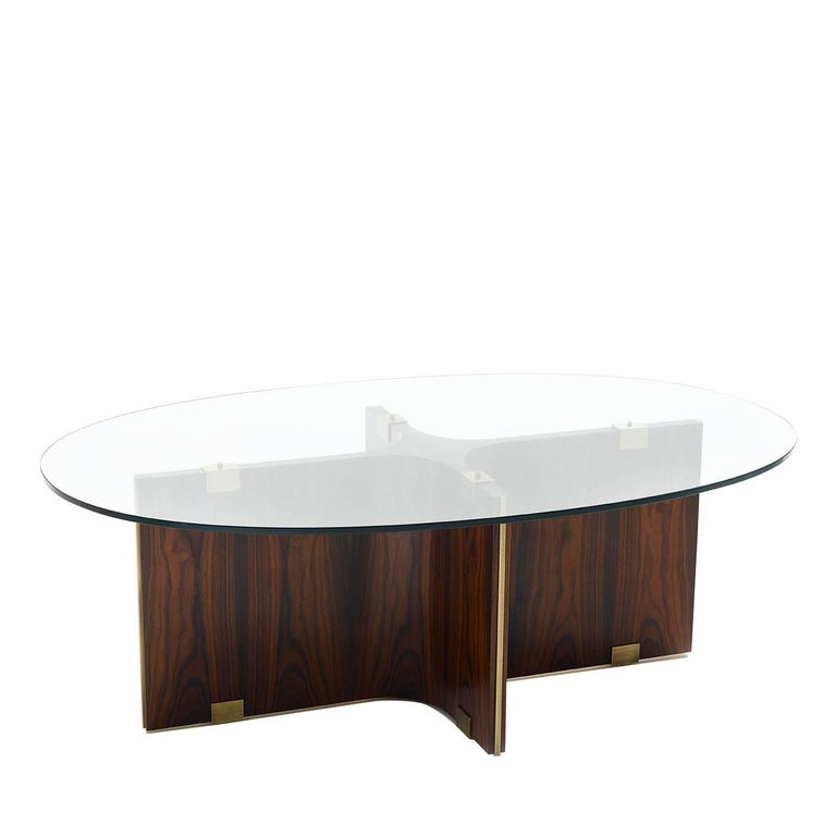 Maxime Oval Coffee Table