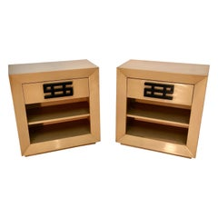Maximilian Karp Pair of Nightstands