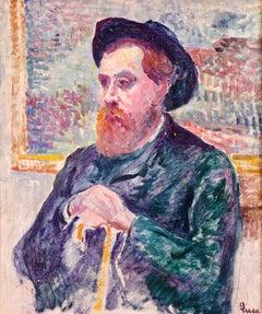 Portrait of the sculptor Albert Marque