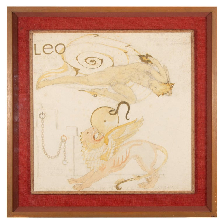 Maxwell Armfield Leo Study For Sale