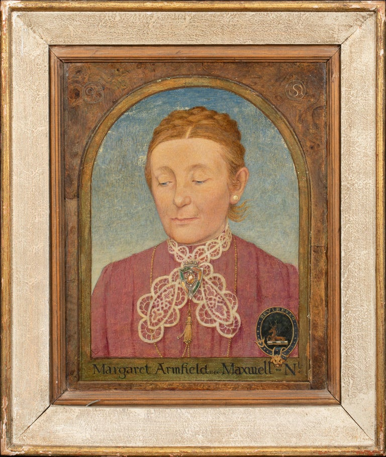 Maxwell Ashby Armfield Portrait Of The Artist's Mother Margaret Armfield Maxwell For Sale 2