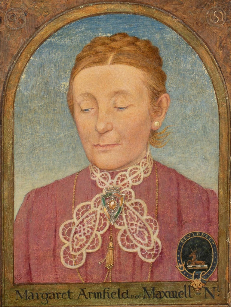 Maxwell Ashby Armfield Portrait Of The Artist's Mother Margaret Armfield Maxwell For Sale 3