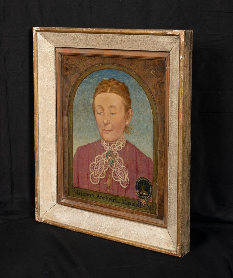 Maxwell Ashby Armfield Portrait Of The Artist's Mother Margaret Armfield Maxwell For Sale 4
