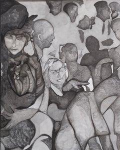 Untitled ( 3 Ladies Underneath)
