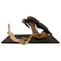 Maya Bronze Sculpture