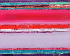 Maya Kabat, Reconfiguration 23, Oil on Stretched Linen, 2018