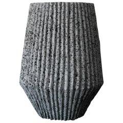 'Mayapán' Vase Handmade in Volcanic Rock