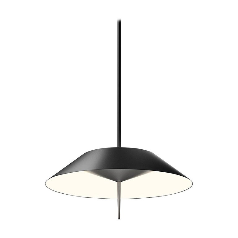 Mayfair LED Pendant Light in Charcoal Grey by Diego Fortunato For Sale