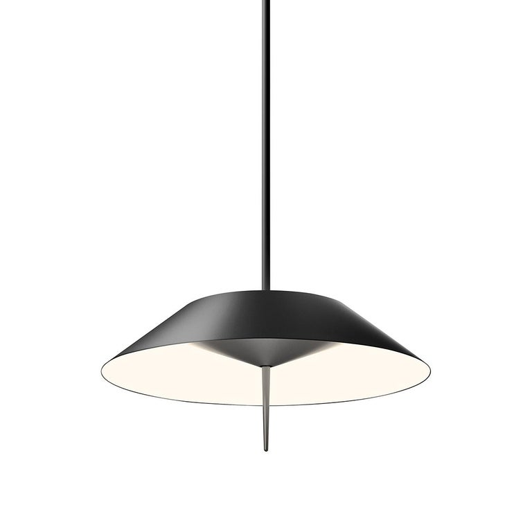 The Mayfair lamps are a Diego Fortunato design proposal. The lamp is a re-imagining of the hanging lamps traditionally used over billiards tables. An innovative and fresh approach to lighting. The entire Mayfair collection incorporates LED lighting
