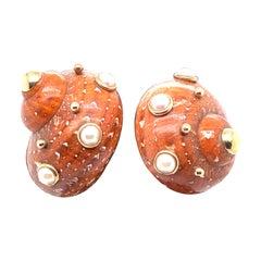 Maz Shell Earrings