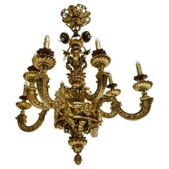 Mazarin Chandelier in Bronze, France