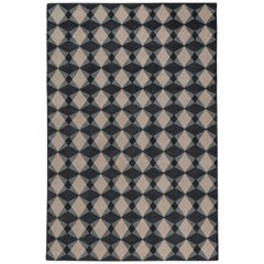 Mazarin Hand-Knotted Area Rug in Wool by The Rug Company