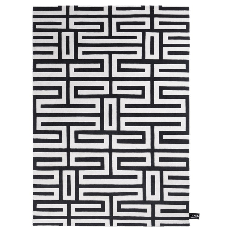 Maze Standard Rug by CC-Tapis For Sale