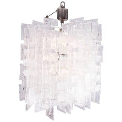 Mazzega Carlo Nason Interlocking Large Murano Chandelier