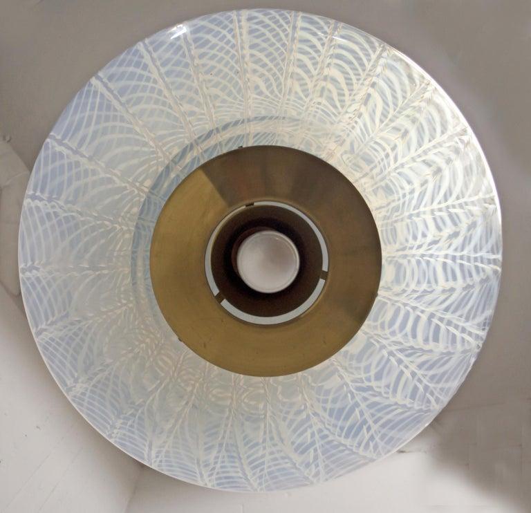 Mazzega Mid-Century Modern Blown Murano Glass Italian Chandelier, 1960s For Sale 6