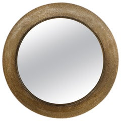 Mazzega Murano Glass Illuminated Border Mirror