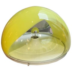 Mazzega - Yellow Table Lamp, circa 1970
